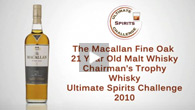 The Macallan Fine Oak 21 Year Old Malt Whisky